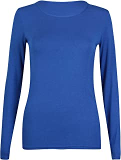 Donna T-Shirt Camicia Top Tunica Glitter con gufo 42 44 46
