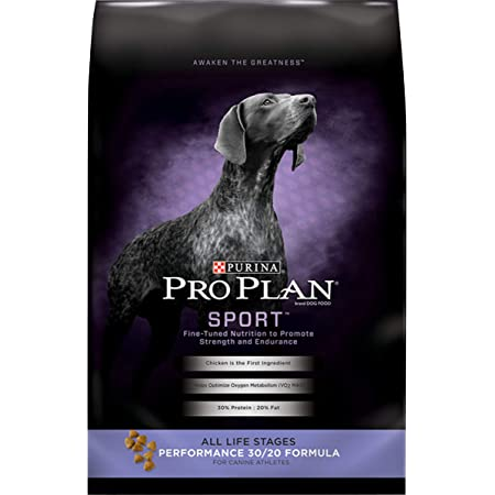 Purina Pro Plan Sport, Energy & Vitality Support, High Protein 30/20 Dry Dog Food & Wet Dog Food (Packaging May Vary)