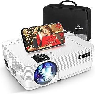VANKYO プロジェクター 6000高輝度 【専用バック付】スマホに直接接続可 小型 プロジェクター ホームシアター 1920×1080最大解像度 TV Stick/HDMI/X-Box/Laptop/iPhone/ゲーム機に接続可 L470
