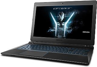 Medion ERAZER 15.5 英寸游戏笔记本电脑 - 变体30022998  Intel Core i7, 1TB HDD - GTX 1050 4GB