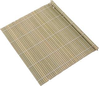 Kemai - Esterilla de bambú para sushi, enrollable, ideal para enrollar fácilmente