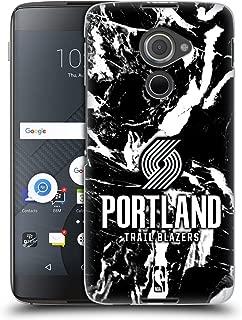 Official NBA Marble 2019/20 Portland Trail Blazers Hard Back Case Compatible for BlackBerry DTEK60