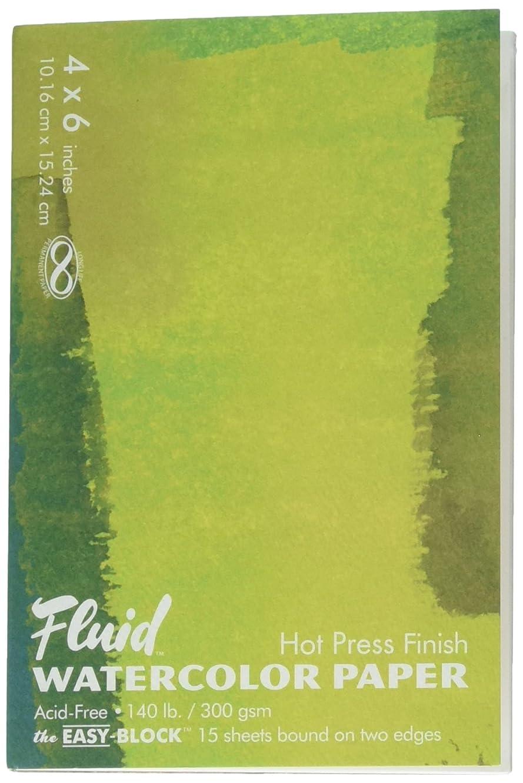 Fluid Watercolor Hot Press Block 4X6