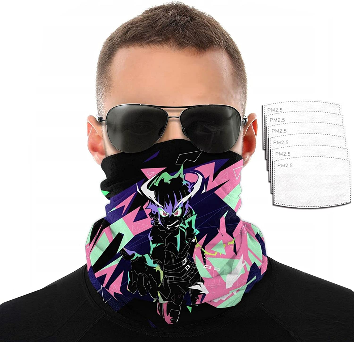 Anime Promare Variety Face Towel 3D Sun Scarf Funny Max 2021new shipping free shipping 59% OFF Printing Pro