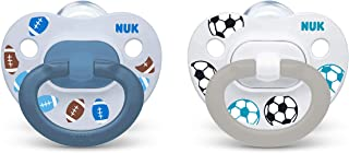NUK Sports Orthodontic Pacifiers, Boy, 18-36 Months, 2 Count