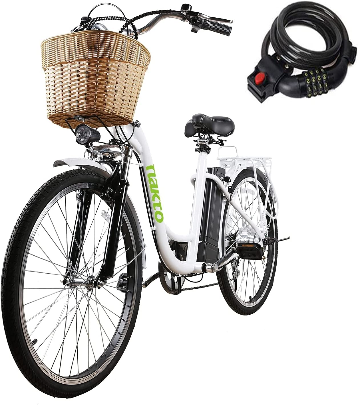 Electric Cheap super special price Bike for Adults 350W 26'' Camel Ultra-Cheap Deals NAKTO Bicycle
