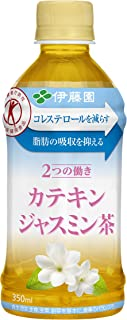 [トクホ] 伊藤園 2つの働き カテキンジャスミン茶 (電子レンジ対応) 350ml ×24本