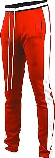 Screenshotbrand Mens Hip Hop Premium Slim Fit Track Pants – Athletic Jogger Bottom..