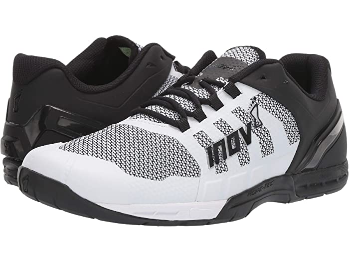 Black White Sports Inov8 Mens F-Lite 290 Knit Training Gym Fitness Shoes