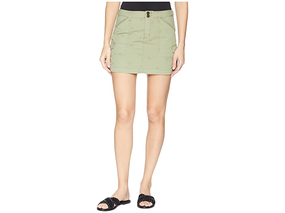 Sanctuary Forward March Skirt (Washed Cadet) Women