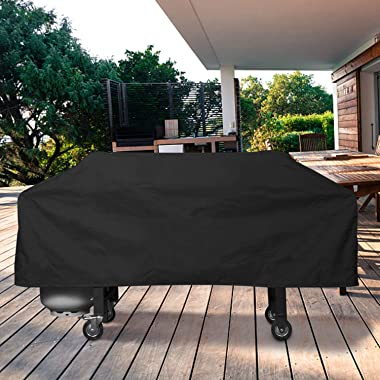 Unicook Griddle CoverforBlackstone 36 InchGrill, Flat Top Cooking Station Grill Cover with Sealed Seam, OutdoorHeavy Duty