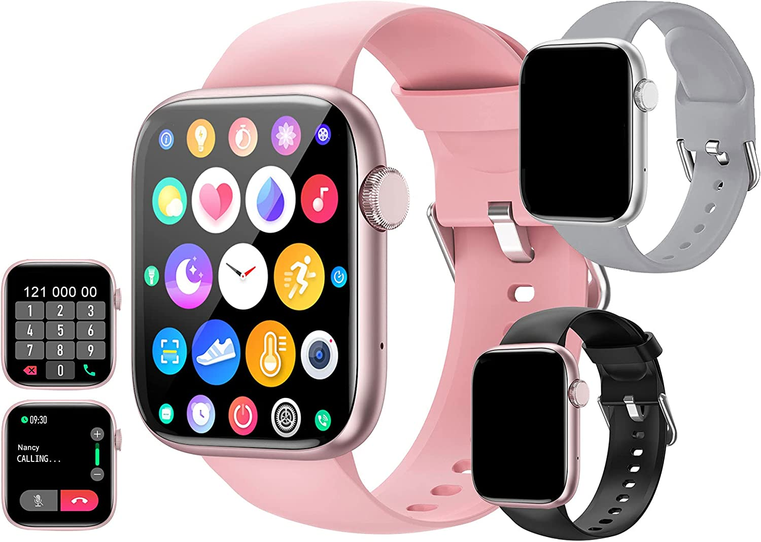feifuns IP67 San Diego Mall Limited time cheap sale Waterproof Smart Watch with Answer Make Call