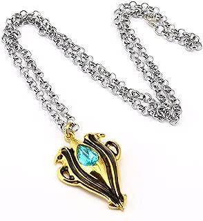 COSTHAT Fire Emblem Imitation Diamond Necklace Pendant Key Chain Torque Bracelet