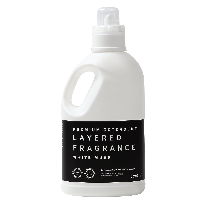 成分支援する正確なレイヤードフレグランス プレミアム デタージェント 洗濯用洗剤 ホワイトムスク