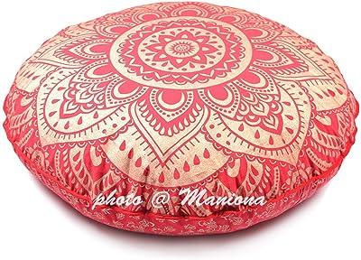 Amazon.com: GDONLINE Indian Mandala Cotton Handmade Gold ...