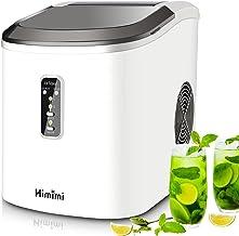 Himimi Machine à glaçons, machine à glaçons silencieuse, vainqueur du test de machine à glaçons, avec réservoir d'eau de 2...