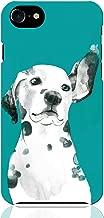 iPhone8 iPhone7 ハード ケース カバー ダルメシアン グリーン NoA グッズ ギフト 犬 動物