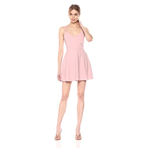 7cb09909af French Connection Women s Whisper Light Sleeveless Strappy Stretch Mini  Dress