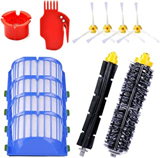 KEEPOW Replacement Parts for iRobot Roomba 600 Series 620 630 650 652 660 680 690 Robotic Vacuum Cleaner (4 Side Brushes,4...