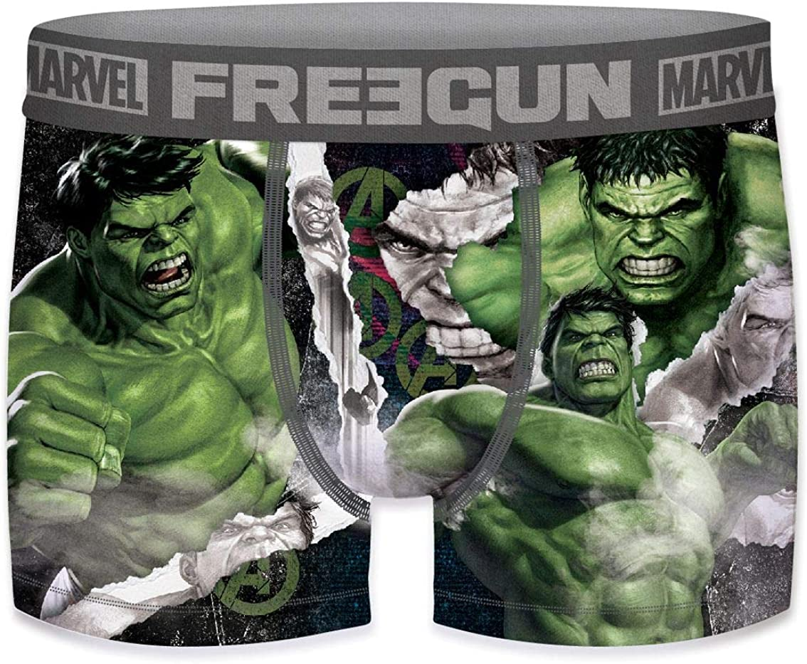FREEGUN Marvel Jungen Boxershorts Avengers Iron Man Hulk Captain America Black Panther Comic Superhelden Druck 4er Pack 6//8 8//10 10//12 12//14 14//16 Jahre