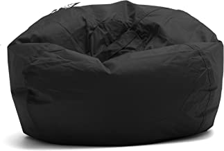 "Big Joe Classic 98 Bean Bag Chair, 33""L x 33""W x 20""H, Stretch Limo Black"