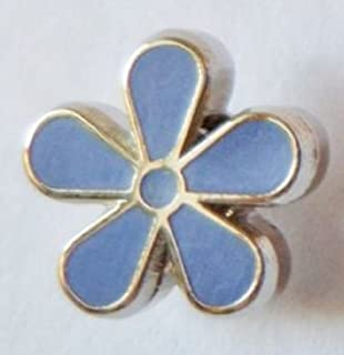 1000 Flags Limited Alzheimer's Disease Forget-Me-Not Flower Small Enamel and Metal Pin Badge