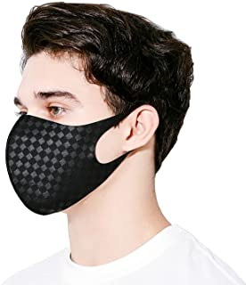 NYBEE SPORT COOLING PROTEX Face Mask UPF 50, Silver ion nano, Washable, Reusable, Breathable, UV Sunblock Protective, Unisex for Running, Cycling, Golf, Driving, School, Work, Summer Time