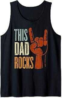 Homme This Dad Rocks rock n Roll pour le père Débardeur