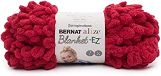 Bernat 16103737009 Alize Blanket-EZ Yarn, Bright Red