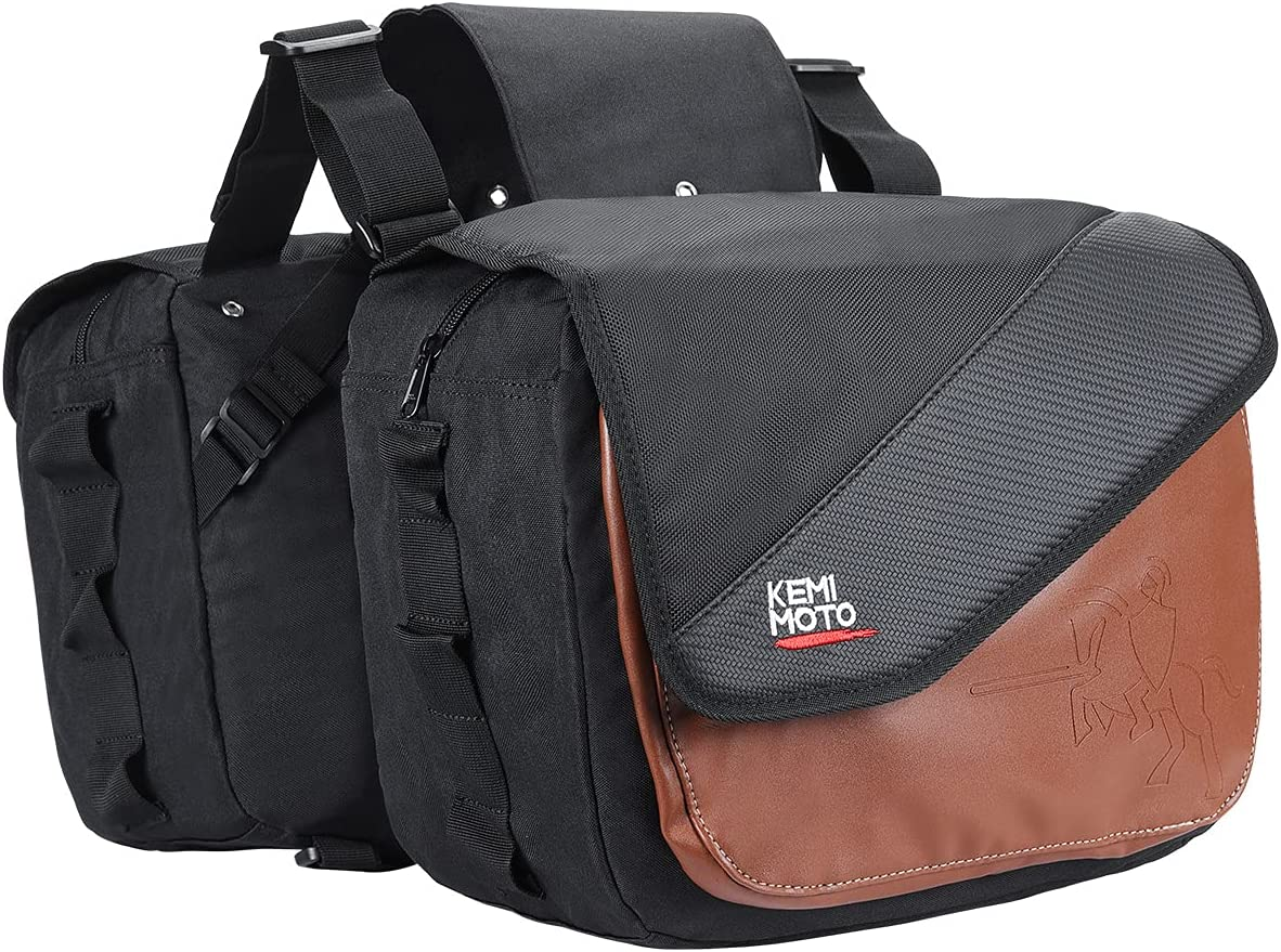 Motorcycle Attention brand favorite Saddlebags Throw-over bags Panniers Motorcycles Univ