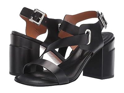 Clergerie Alba (Black Calf) High Heels