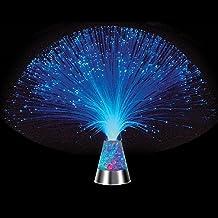 TankerStreet Fiber Optic Lamp met kleurveranderende kristallen LED-licht glacier nachtlampje voor verjaardag Kerstmis Hall...