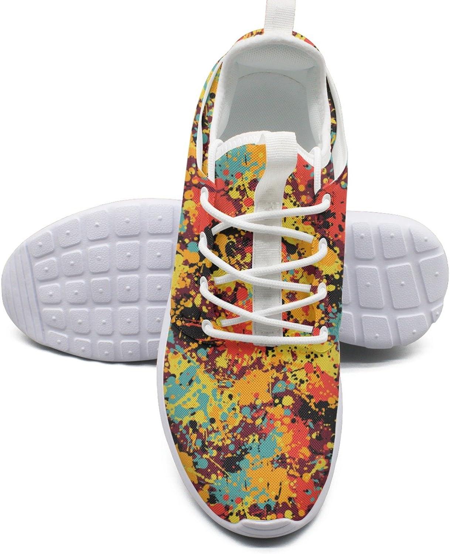 ERSER Splatter Ink Graffiti Paint shoes Sport for Women Running