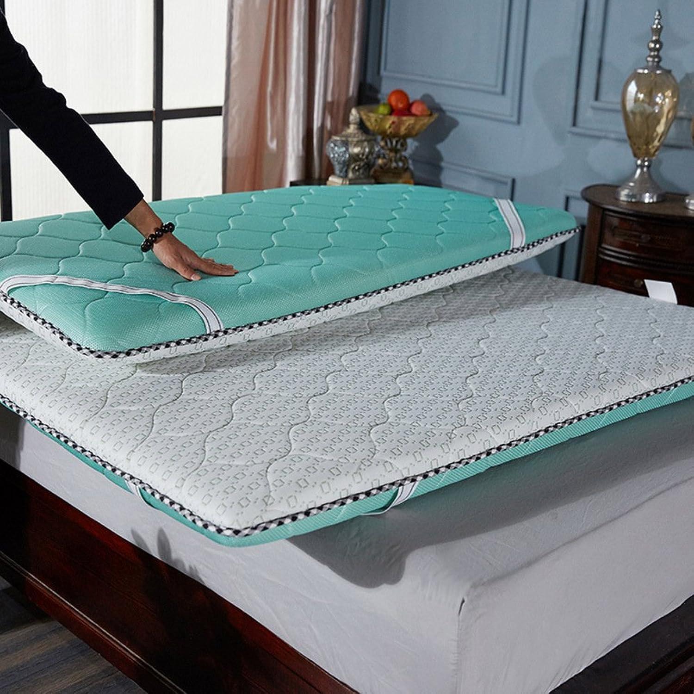 Memory Foam Thickened Mattress Topper,Multifunction 5cm Tatami Floor Mat Four Seasons Universal-E 120x200cm(47x79inch)
