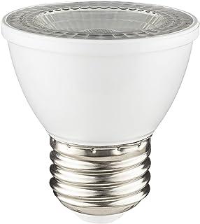 Sunlite 80142-SU LED PAR16 Short Neck Light Bulb 7 Watts (50W Equivalent), 500 Lumens, Mediuem (E26) Base, Dimmable, 1 Pack, 27K - Warm White