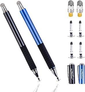 aibow タッチペン スタイラスペン iPad iPhone スマホ Android タブレット Switch 対応 2本+ペン先6個