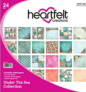 Heartfelt Creations Under The Sea, 12 Designs/2 Each Double-Sided Paper