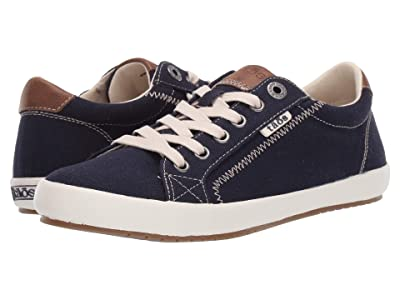 Taos Footwear Star Burst (Navy/Tan) Women