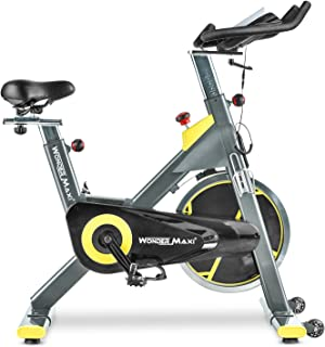 Indoor Cycling Exercise Bike, Belt Drive Exercise Bike Stationary Bike for Home Cardio Gym Workout