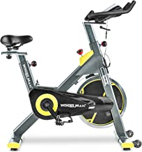 Wonder Maxi Indoor Cycling Bike, Belt Drive Exercise Bike Stationary Cycle Bike for Home Cardio Gym Workout