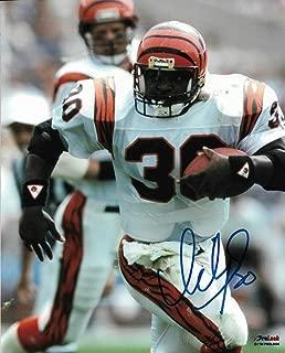 Autographed Ickey Woods Photo - 8x10 COA - Autographed NFL Photos