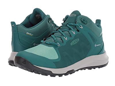 Keen Explore Mid Waterproof (Storm/Marine Green) Women