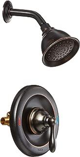 Moen 82495EPBRB Single Handle Posi-Temp Pressure Balanced Shower Trim, Mediterranean Bronze