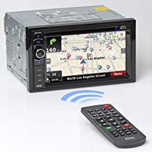 BOSS Audio Systems BV9386NV Car GPS Navigation – Double Din, Bluetooth Audio and..