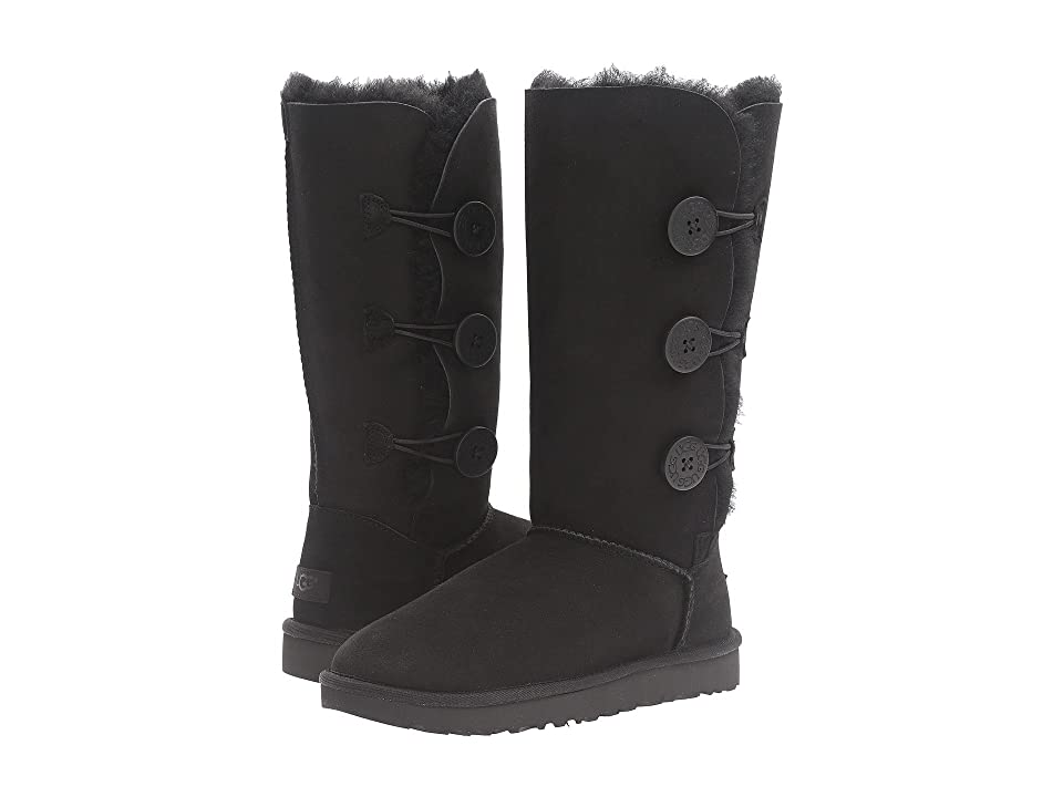 UGG Bailey Button Triplet II (Black) Women's Boots