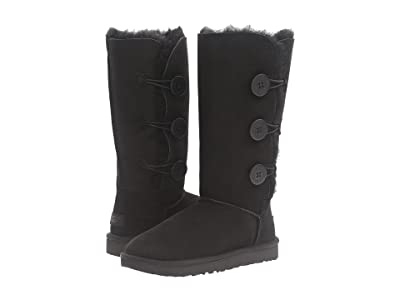 UGG Bailey Button Triplet II (Black) Women