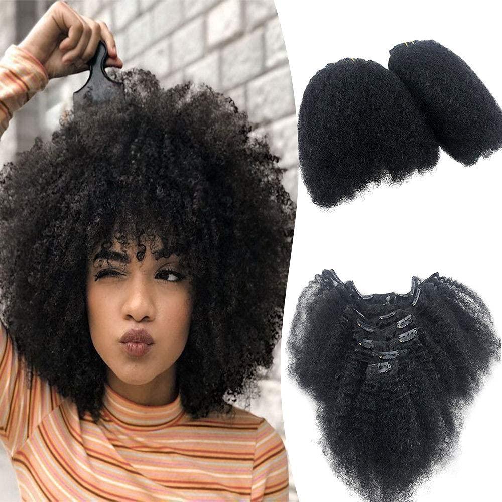 Komorebi Kinky Ranking TOP7 Curly Clip on Ha Hair Extensions Brazilian Excellence Virgin