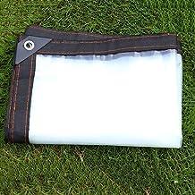 Size : 1x2m Transparente Impermeable Lona de Protecci/ón Impermeable//A Prueba de Viento//A Prueba de Polvo//A Prueba de Lluvia Exterior PE Toldo STTHOME Toldo Exterior Impermeable