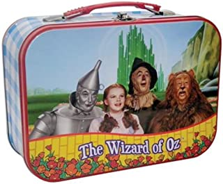 WL 7.5 Inch The Wizard of Oz Four Friends Together Tin Lunch Pail Box