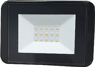 HPM LFL0415WBL Fina LED Floodlight FINA LED Slim Floodlight - Cool White - 20W, Black